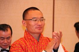 トブゲー・ブータン王国首相