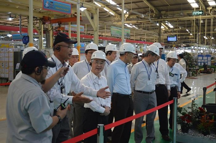 トヨタ・モーター・マニュファクチャリング・インドネシア社訪問