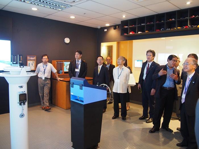 フィリピンMAGSAYSAY社訪問