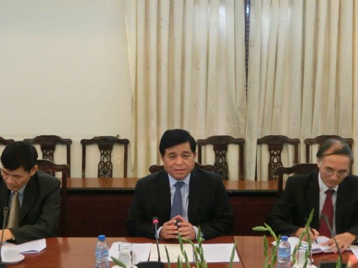 グエン・チー・ズン投資計画副大臣