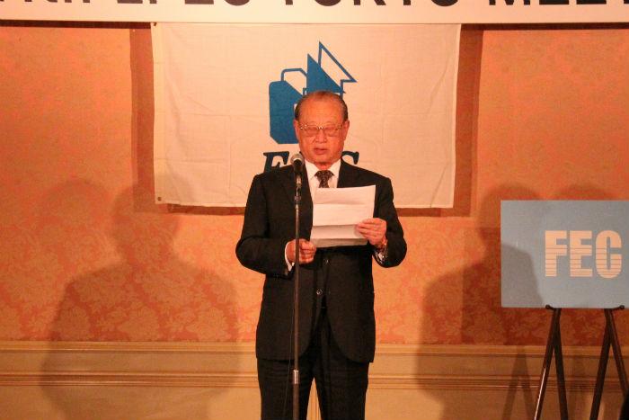 松澤理事長による開会の挨拶