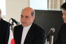 レザー・ナザルアーハリ駐日イラン・イスラム共和国大使