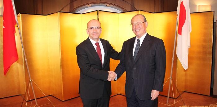 メフメト・シムシェキ・トルコ共和国副首相と松澤FEC理事長