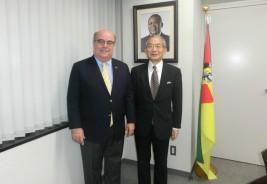 ジョゼ・マリア・ダ・シルヴァ・ヴィエイラ・デ・モライス駐日モザンビーク共和国大使