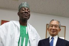 モハンメド・ガナ・イサ駐日ナイジェリア連邦共和国大使