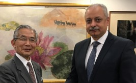 アイマン・アリ・カーメル駐日エジプト・アラブ共和国大使