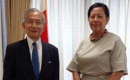 ミレイユ・ラザナマララ・ラクトゥマララ駐日マダガスカル共和国大使