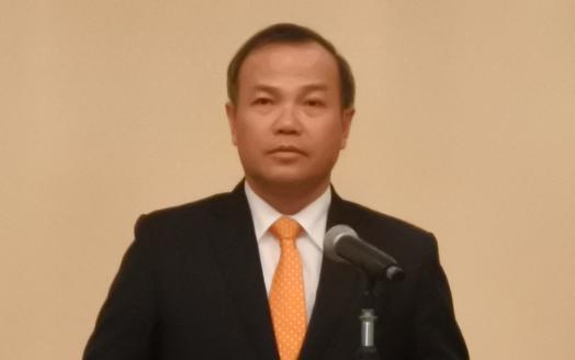 研究会で講演するヴー・ホン・ナム駐日ベトナム社会主義共和国大使