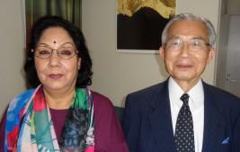 プラティヴァ・ラナ駐日ネパール連邦民主共和国大使