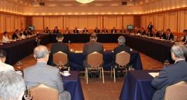 令和元年度定時総会、通常理事会の様子