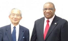 モーヴェン・M.・ルスウェニョ駐日ナミビア大使