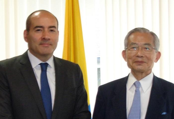 サンティアゴ・パルド駐日コロンビア共和国大使