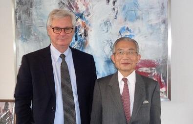 ピーター・タクソ-イェンセン駐日デンマーク大使
