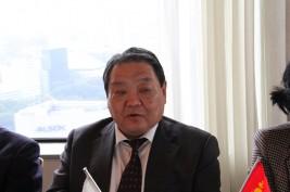 フレルバータル駐日モンゴル大使