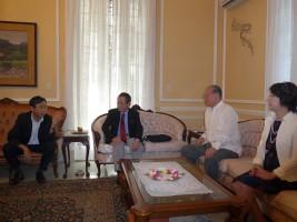 在キューバ大使公邸