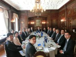 バンサーン駐日タイ大使主催昼食会の様子