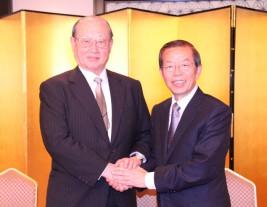 謝長廷台北駐日経済文化代表処代表
