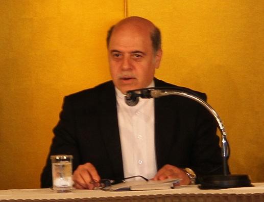 FEC国際セミナーで講演するナザルアーハリ駐日イラン大使