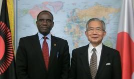 グレネンガー・K. M.・バンダ駐日マラウイ共和国大使