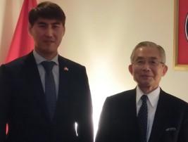 チンギス・アイダルベコフ駐日キルギス大使