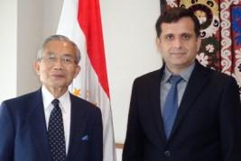 ジャロロフ・ミルゾシャリフ駐日タジキスタン大使