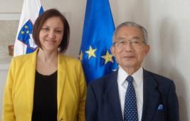 アンナ・ポラック・ペトリッチ駐日スロヴェニア共和国大使