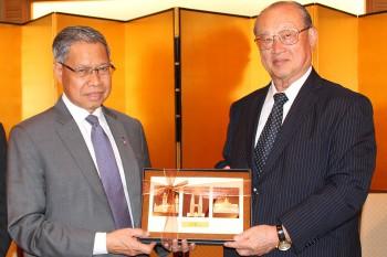 マレーシア国際貿易産業大臣朝食会 HP