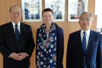EU大使表敬訪問HP1