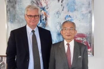 ピーター・タクソ-イェンセン駐日デンマーク王国大使HP1