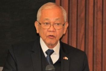 ホセ・C.・ラウレル・5世駐日フィリピン大使HP1