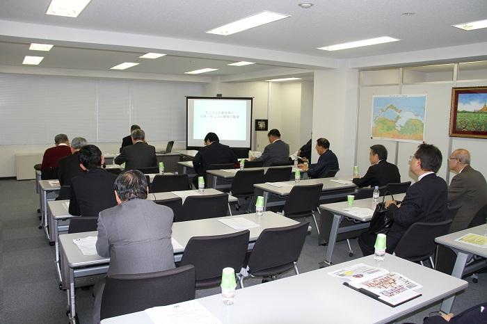 第2回モンゴル研究会の開催風景