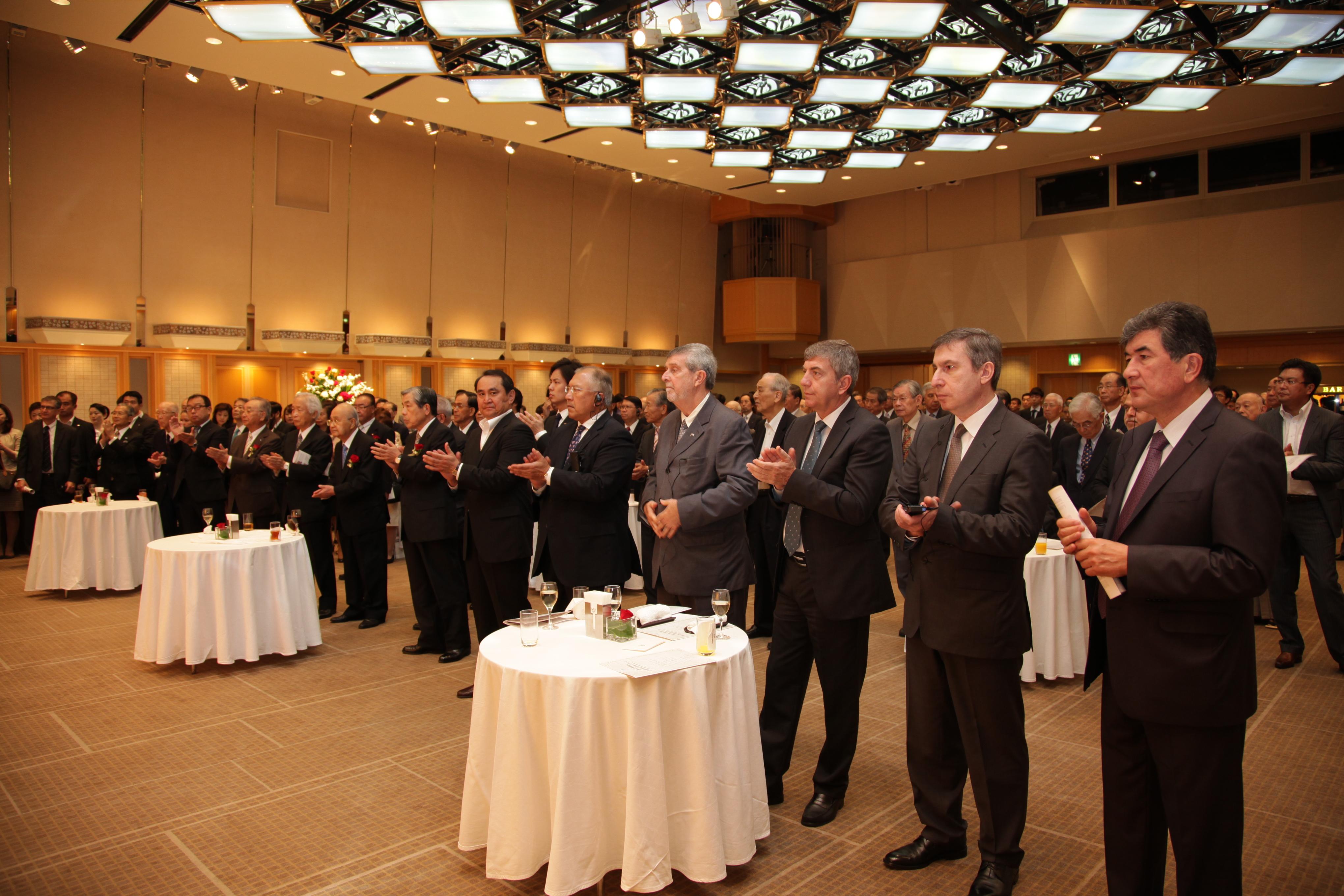 FEC創立30周年記念式典・レセプション会場の様子