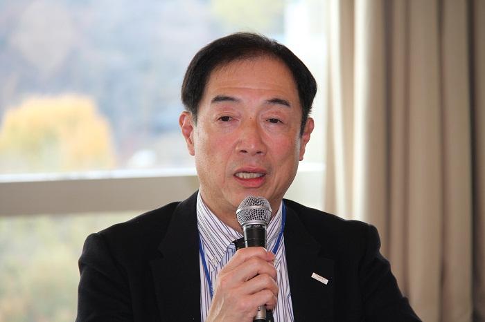 阿部晃一・東レ(株)代表取締役専務取締役