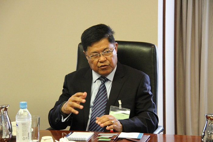 ソー・テイン・ミャンマー大統領府付大臣