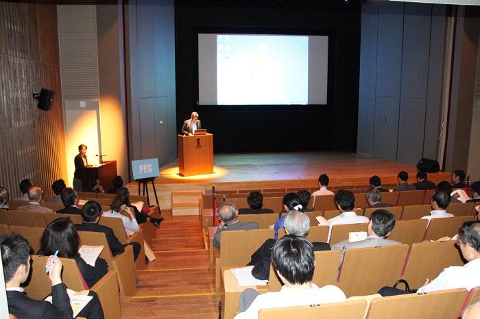 日本企業インド進出セミナーの開催風景