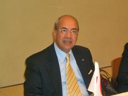 講演するアルール駐日モロッコ大使