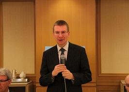 エドガルス・リンケービッチ・ラトビア外務大臣