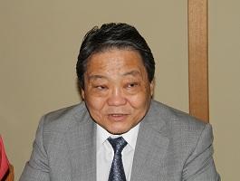 講演するフレルバータル駐日モンゴル大使