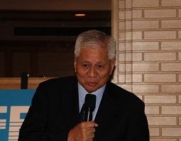 デル・ロサリオ・フィリピン外務大臣