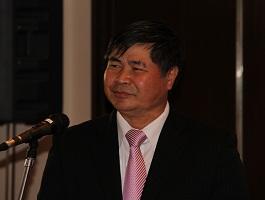 開会挨拶するフン駐日ベトナム大使