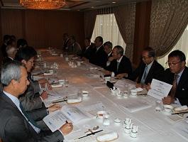 第57FEC中東問題研究会の開催風景