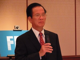 ヴォー・ホン・フック・ベトナム計画投資大臣