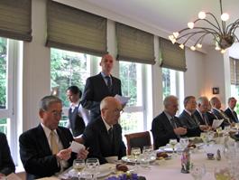 第105回FEC日欧経済等フォーラムの開催風景