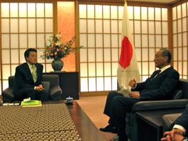 調査団の結果を踏まえ、岡田外務大臣に提言する生田FEC副会長