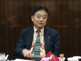 講演する河村たかし名古屋市長