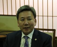 ロブサンワンダン・ボルド外務大臣