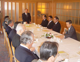 ホテルオークラ東京・本館での第44回インド問題研究会
