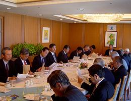 第33回FEC中東問題研究会の開催風景