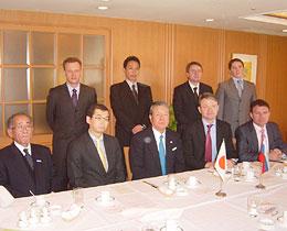 トカチョフ知事一行とFEC日露委員会役員らが