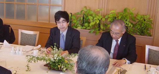 小森田秋夫東大教授を囲んでの第72回ロシア問題研究会